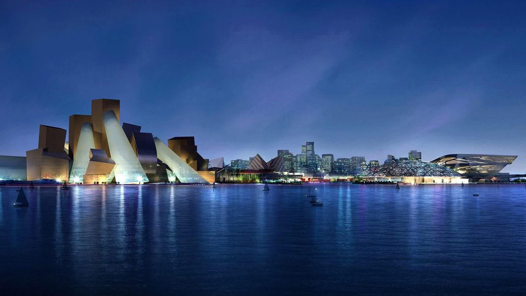 Frank Gehry designed Guggenheim Museum