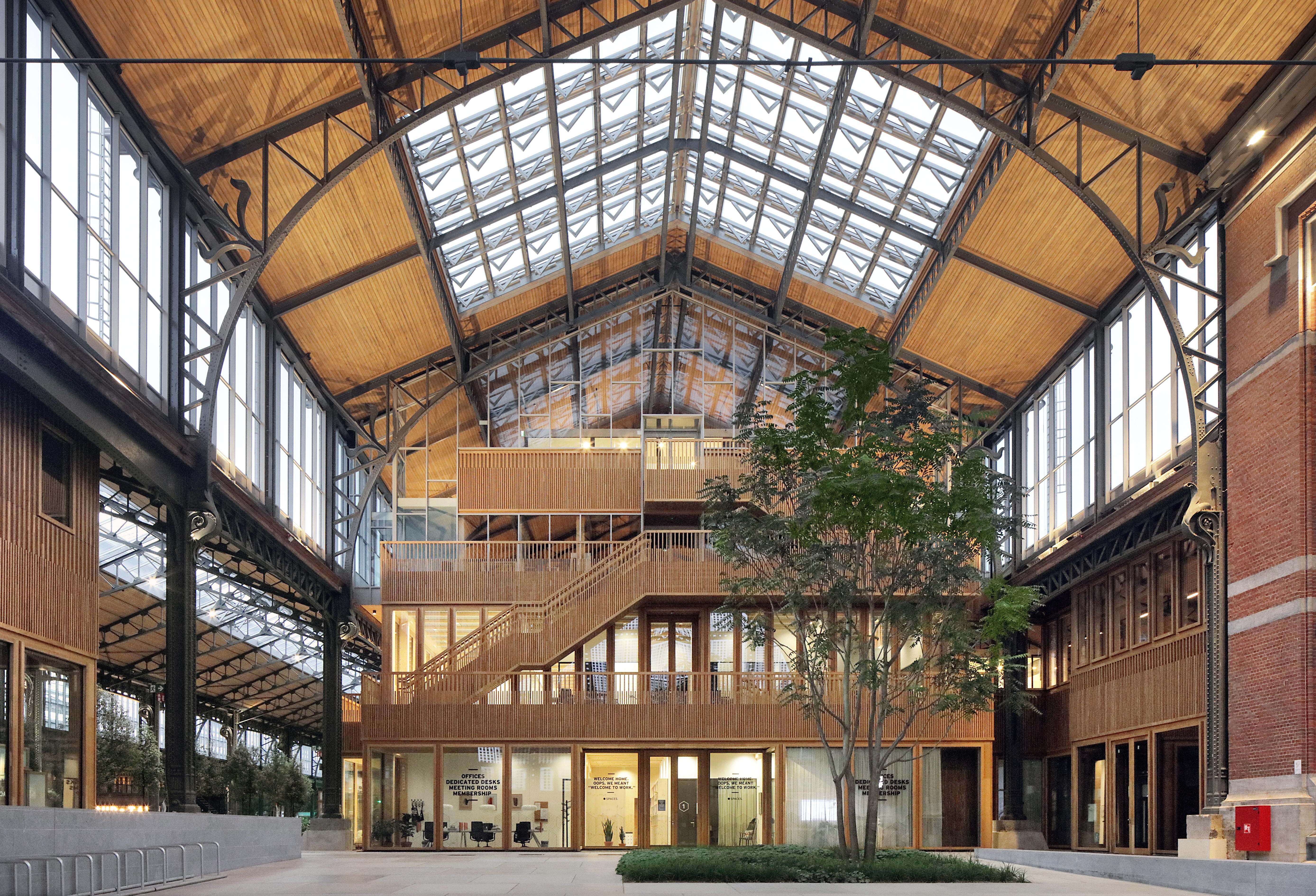 Neutelings Riedijk Architects gives Gare Maritime a makeover to create the largest CLT project in Europe