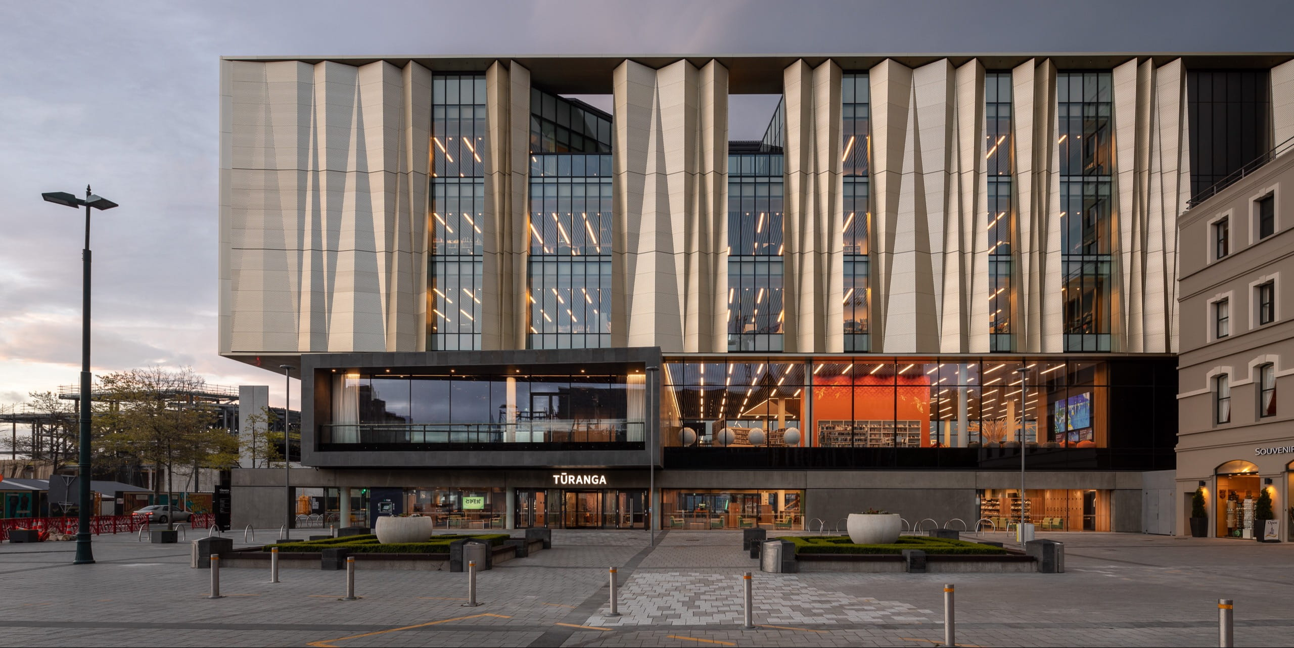 SHL Architects designs new library in Christchurch as a symbol of hope, unity and rebirth