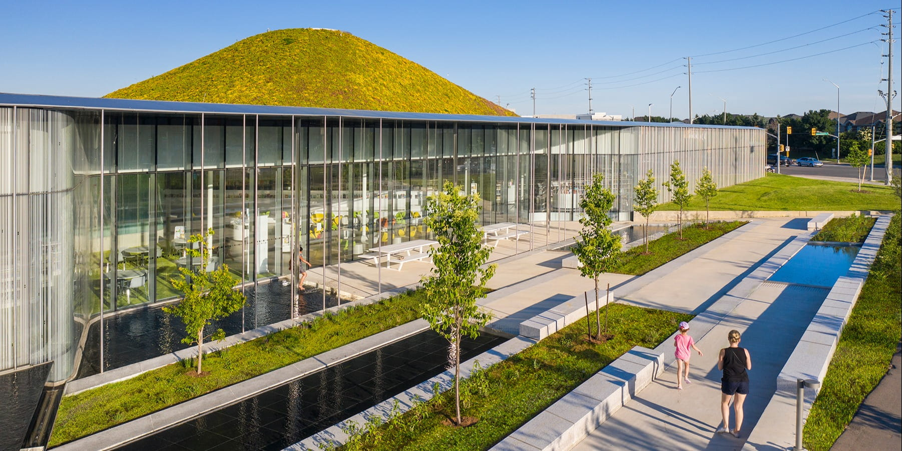 RDHA merges new public library within the landscape and community of Brampton