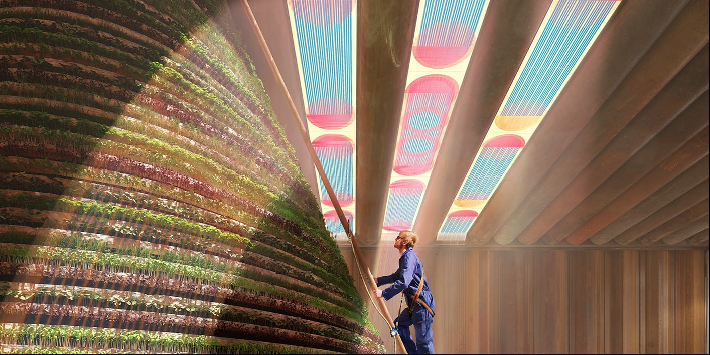 Marjan van Aubel applies intelligent design to solar panels for harvesting sunlight at Dubai Expo 2020