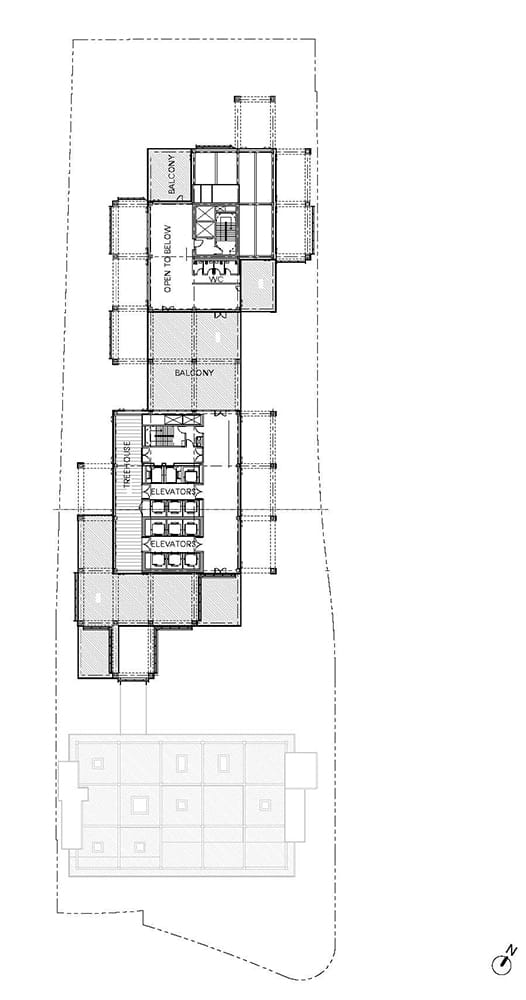 Arbor Roof Terrace Plan