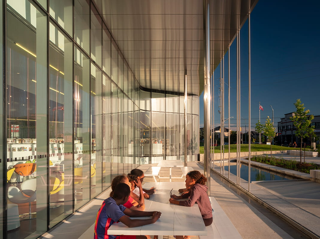 Springdale Library in Brampton by RDHA