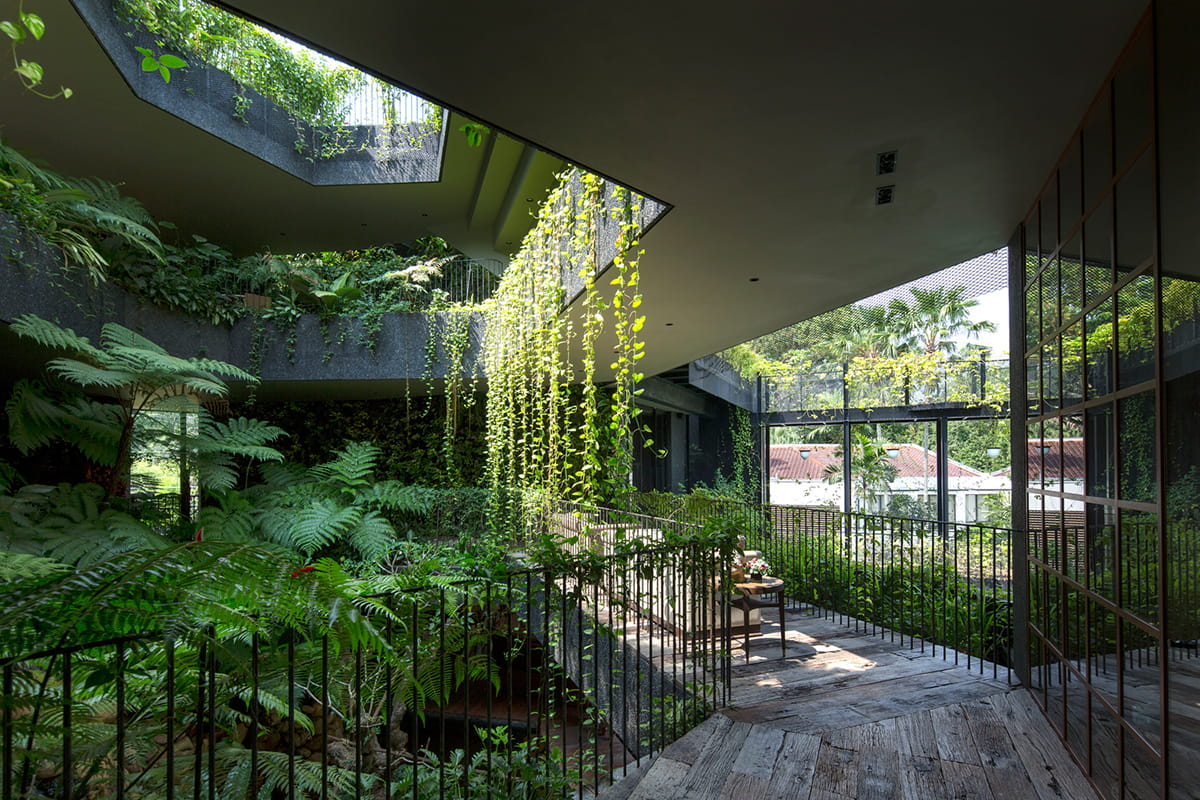 Cornwall gardens by Chang Architects
