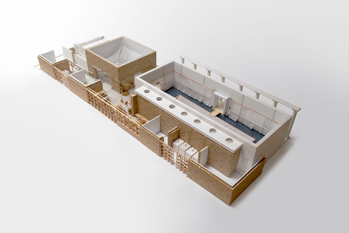 Danish Pavilion Exhibition Venice Architecture Biennale 2021, Model image