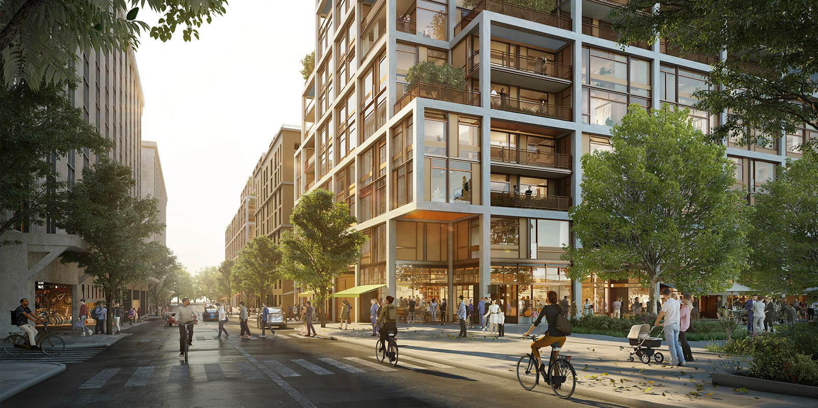 Residential Masterplan by Foster + Partners in San Fransisco