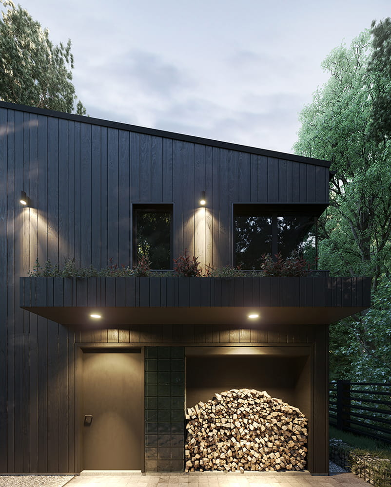 Hill House by Snegiri Architects