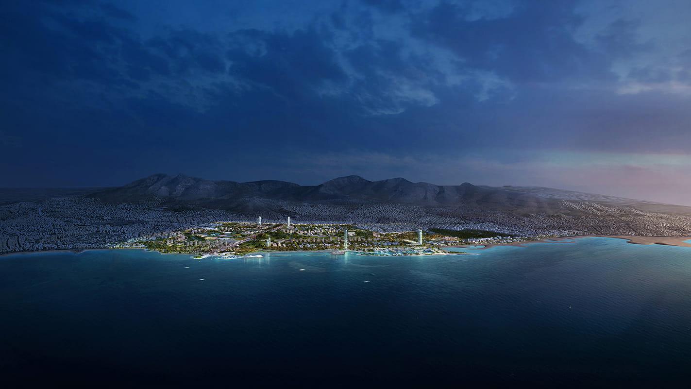 Ellinikon masterplan by Foster + Partners in Greece