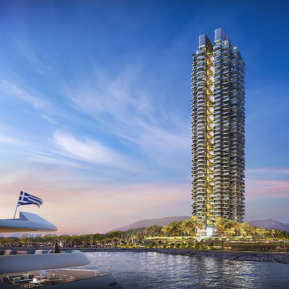Marina Tower by Foster + Partners in Greece