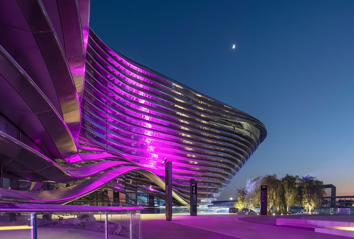 Mobility Pavilion at Expo 2020 Dubai by Foster + Partners