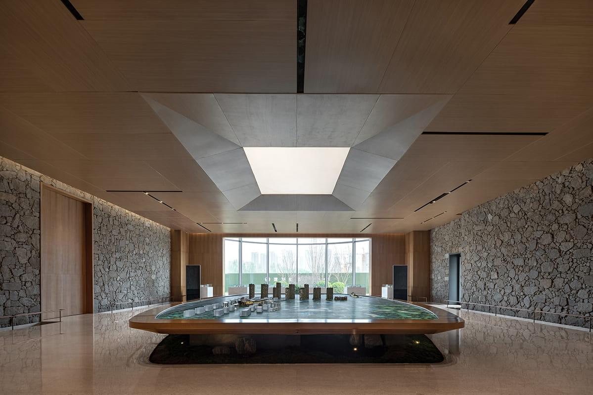 Nanbo Bay reception area by Sunson Design