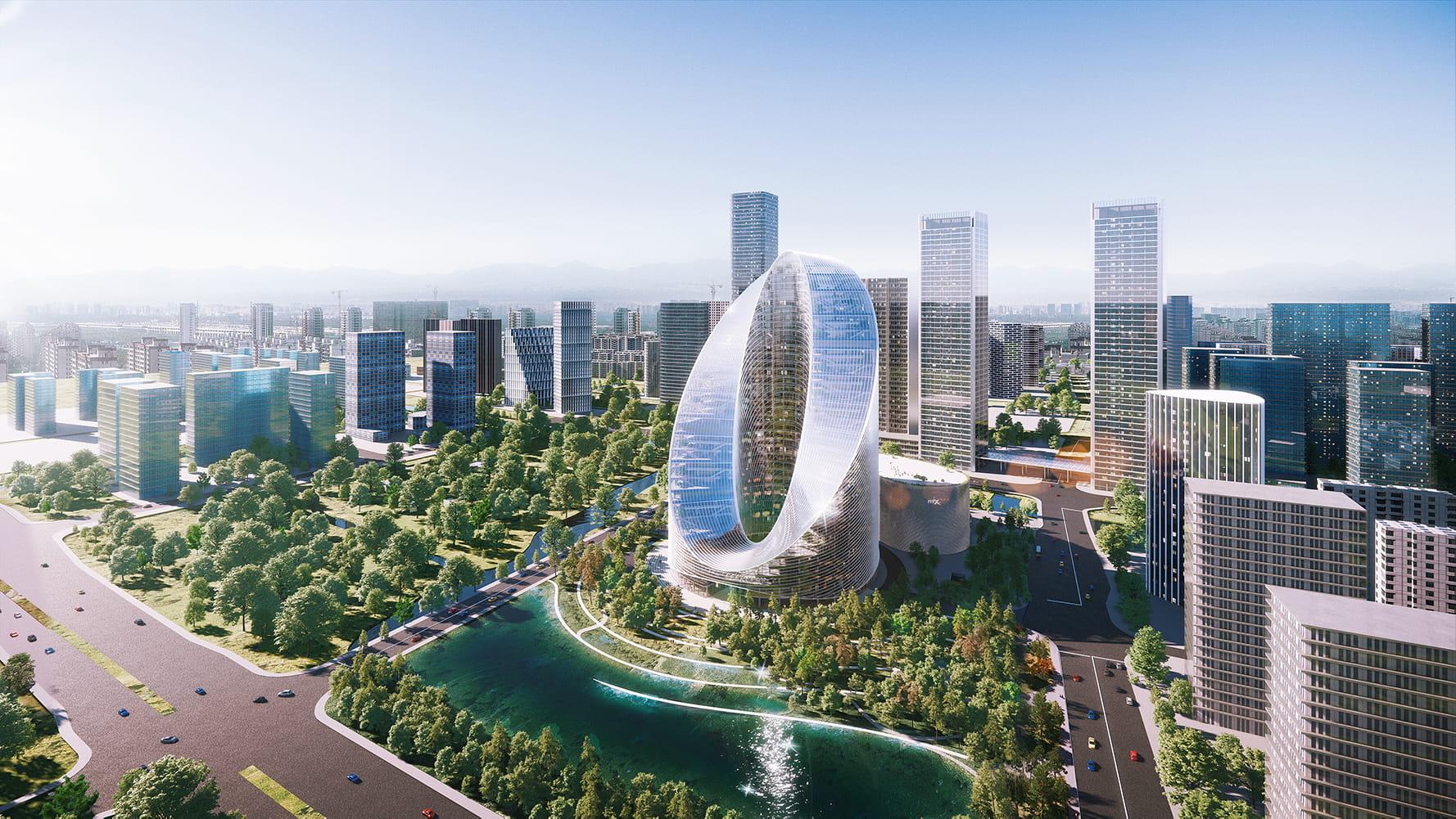 BIG OPPO O Tower Hangzhou China