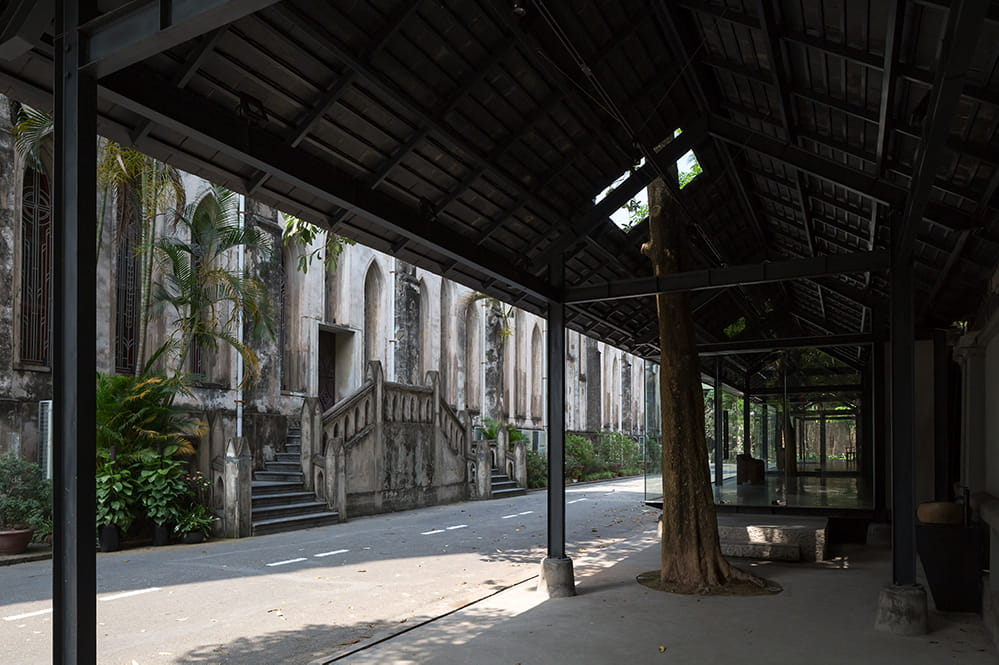 Pavilion for St Joseph Cathedral in Hanoi.