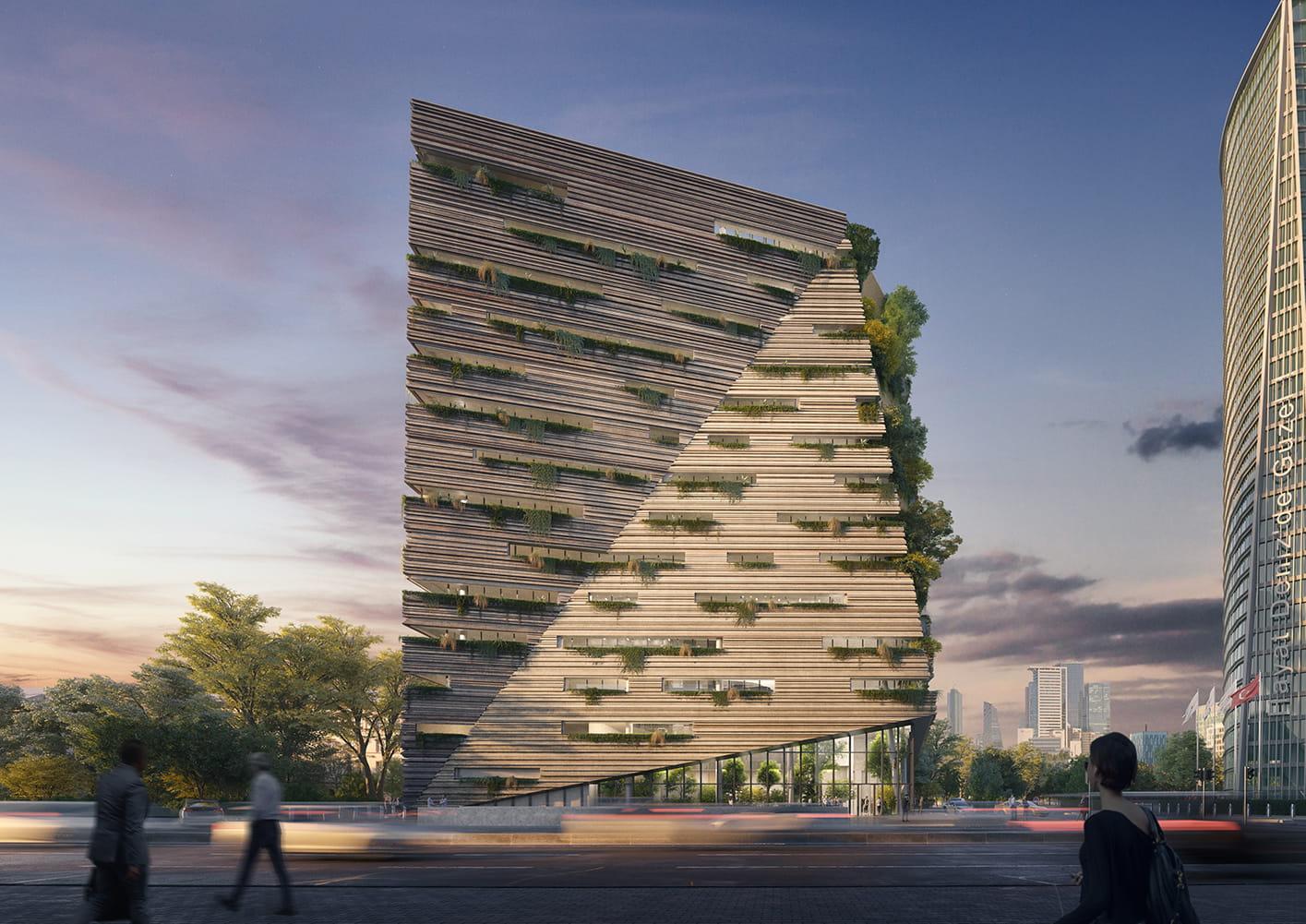 Sanko Headquarters in Istanbul by RMJM