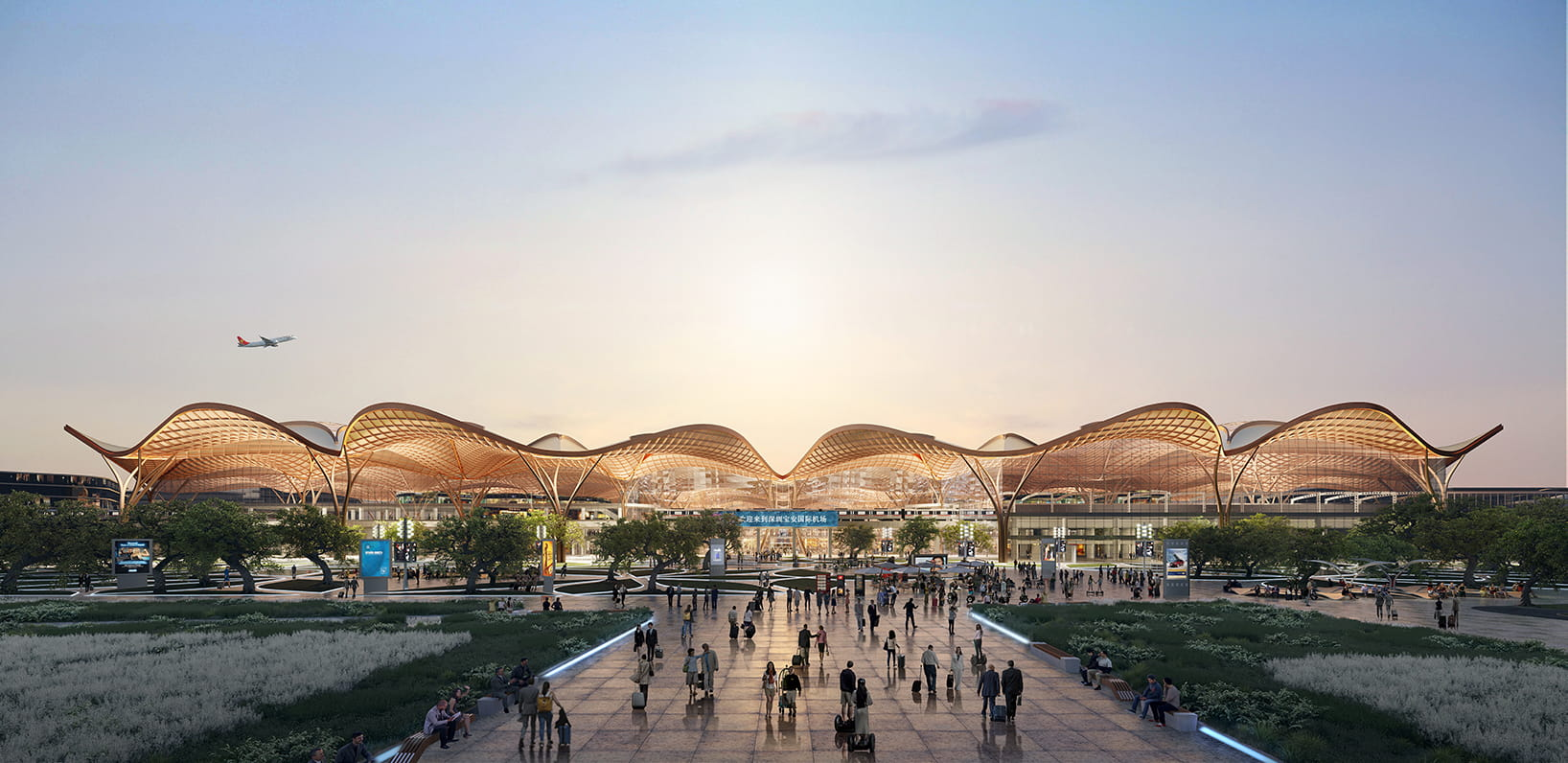 Grimshaw to build the new Shenzhen Airport East Integrated Transport Hub