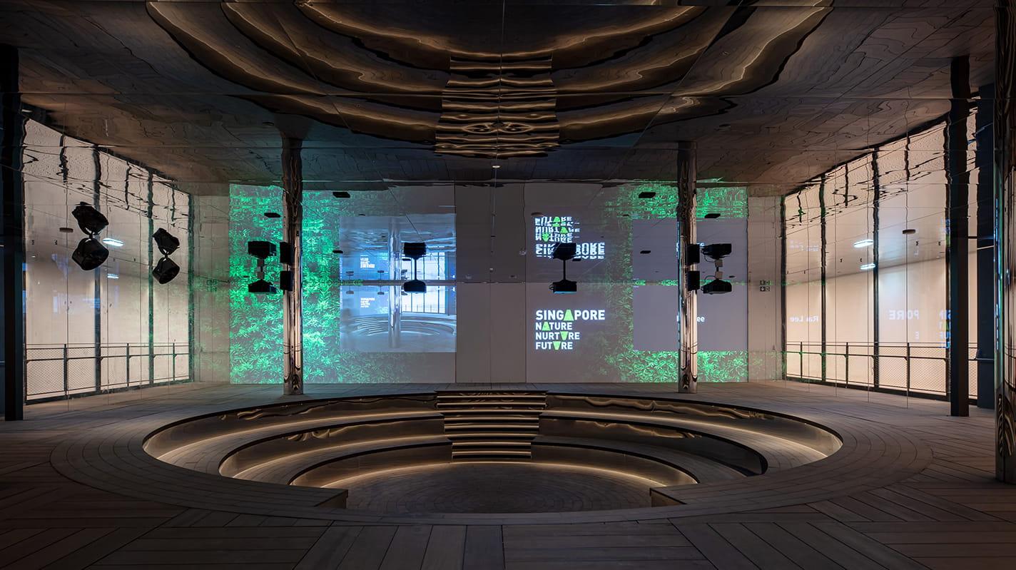 singapore pavilion by WOHA at World expo 2020 Dubai