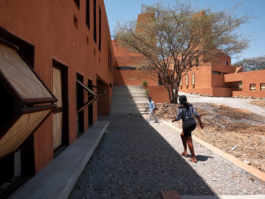 Startup lion campus in kenya by kéré Architecture