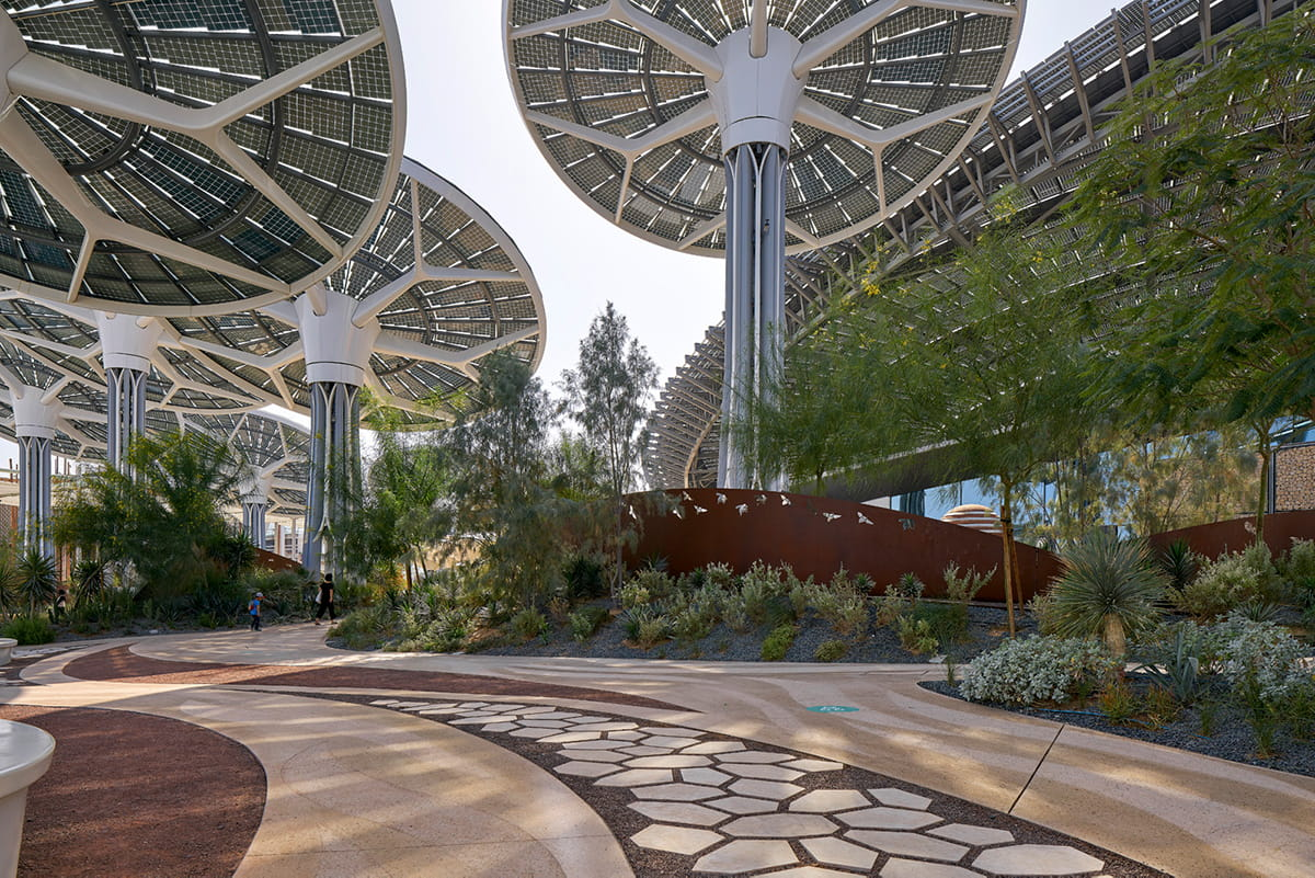 TERRA pavilion at expo 2020 Dubai by Grimshaw