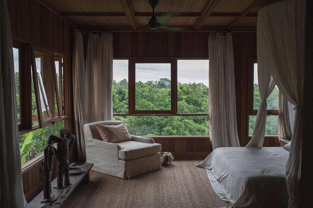 Second upstairs bedroom of Rumah Purnama