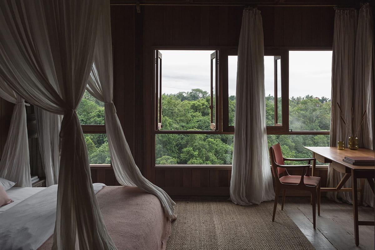 Bedroom of Rumah Purnama