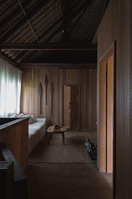 Family room upstairs in Rumah Purnama