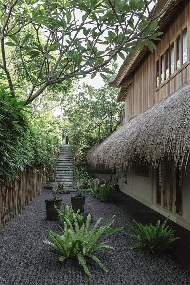 Entrance of Rumah Purnama
