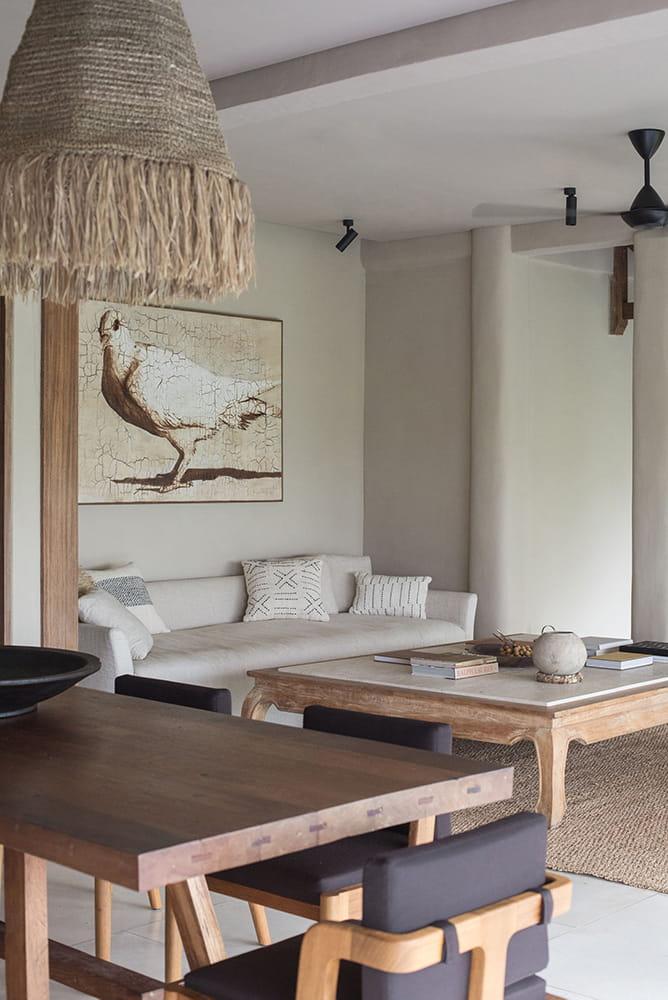 Living room of Rumah Purnama