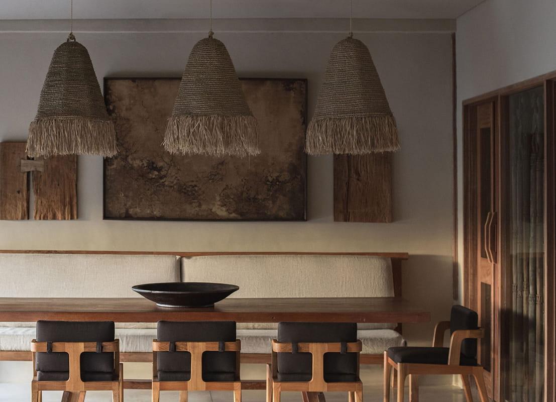 Dining room at Rumah Purnama